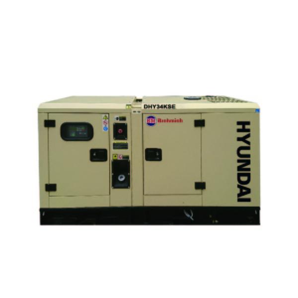 Máy phát điện công nghiệp Hyundai DHY34KSE