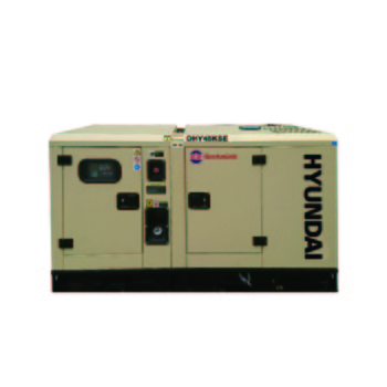 Máy phát điện công nghiệp Hyundai DHY45KSE